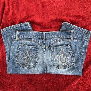 Cache Bermuda jean shorts